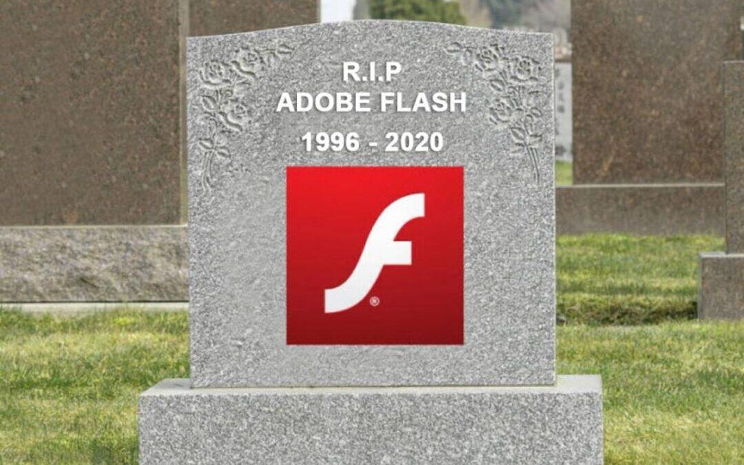 Adobe Flash pronto será un software